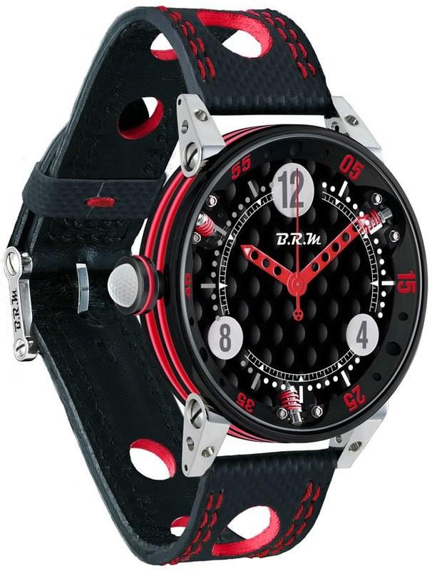 BRM 6-44 Golf Black Dial Red GF6-44-SA-N-AR