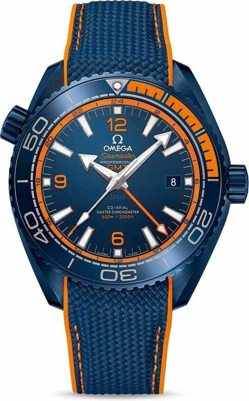 Seamaster Planet Ocean 600M Co-Axial Master Chronometer GMT Big Blue