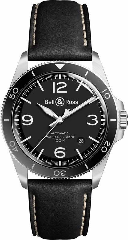 Bell & Ross BR V2-92 Black Steel