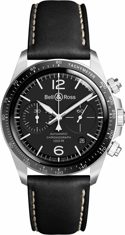 Bell & Ross BR V2-94 Black Steel