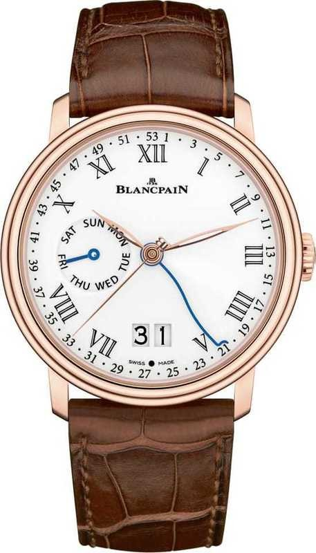 Blancpain Villeret Semainier Grande Date 8 Jours 6637-3631-55B