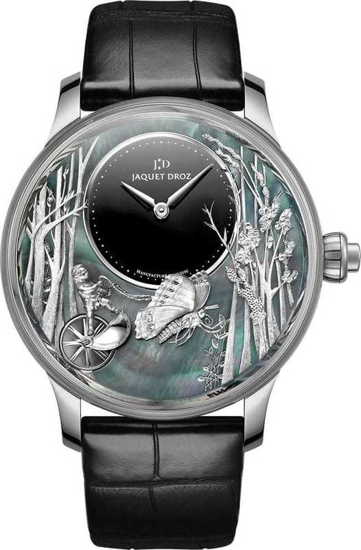 Jaquet Droz Loving Butterfly Automaton White Gold