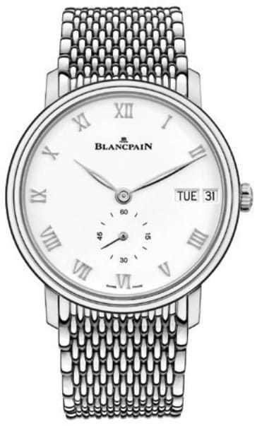 Blancpain Villeret Jour Date on Bracelet