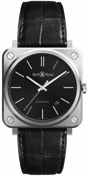 Bell & Ross BR S-92 Black Steel