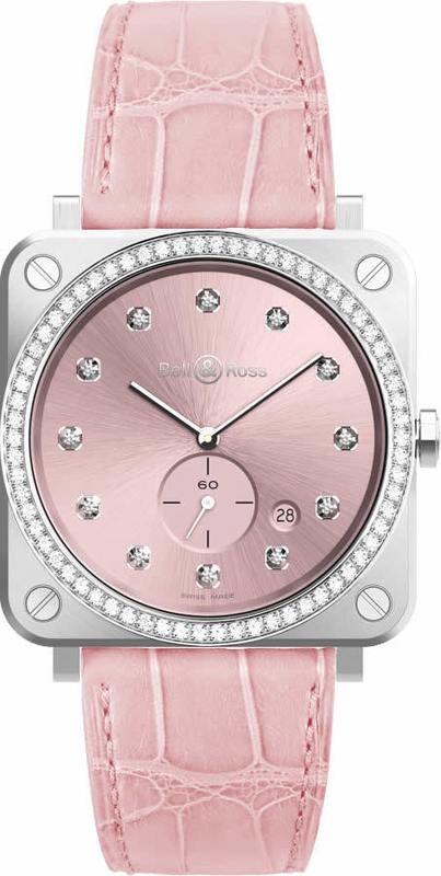 Bell & Ross Novarosa Full Diamonds Quartz