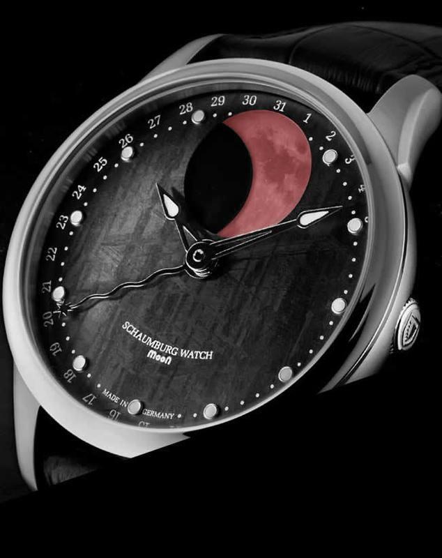 Schaumburg Watch Blood Moon Meteorite