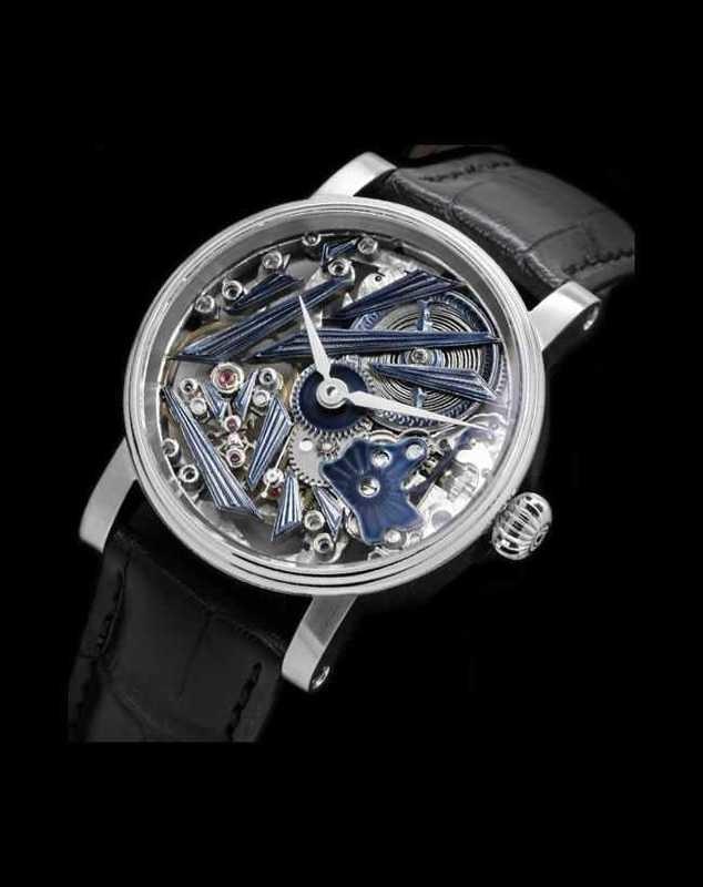 Schaumburg Watch Glacier Hand Made