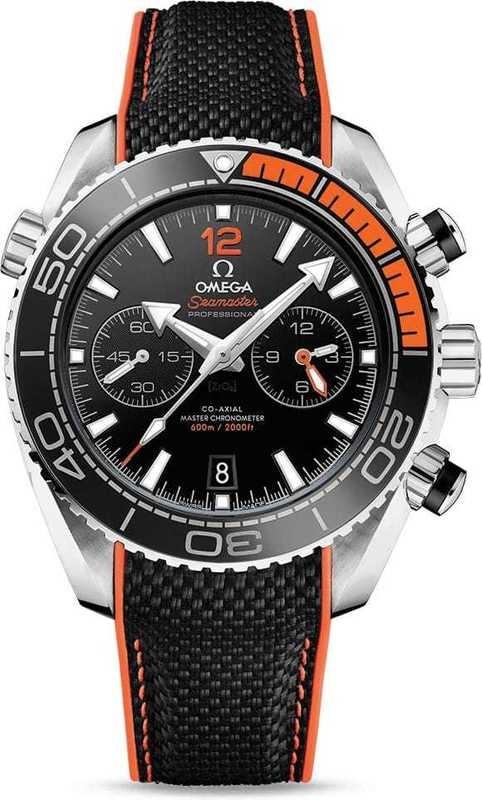 Seamaster Planet Ocean 600M Omega Co-Axial Master Chronometer Chronograph