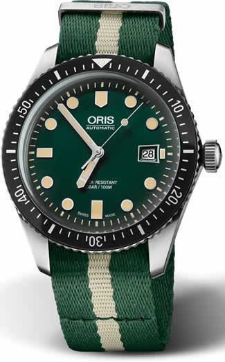 Oris Sixty Five Diver Green Dial 01 733 7720 4057-07 5 21 24FC
