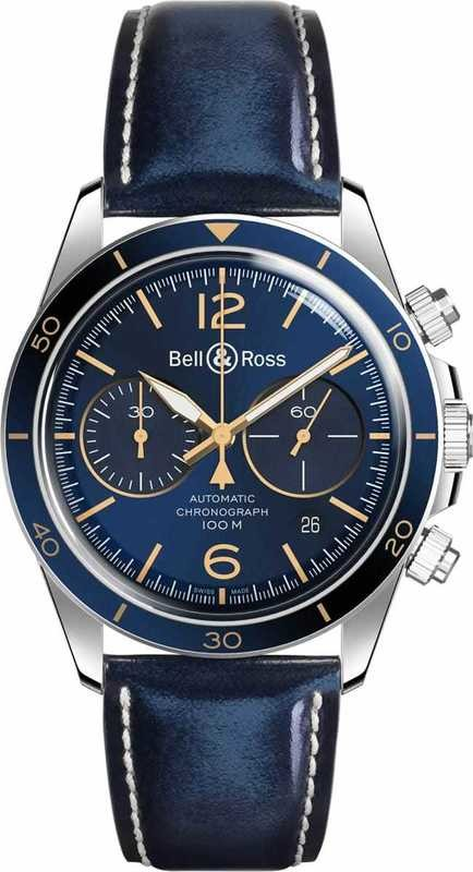 Bell & Ross BR V2-94 Blue Steel