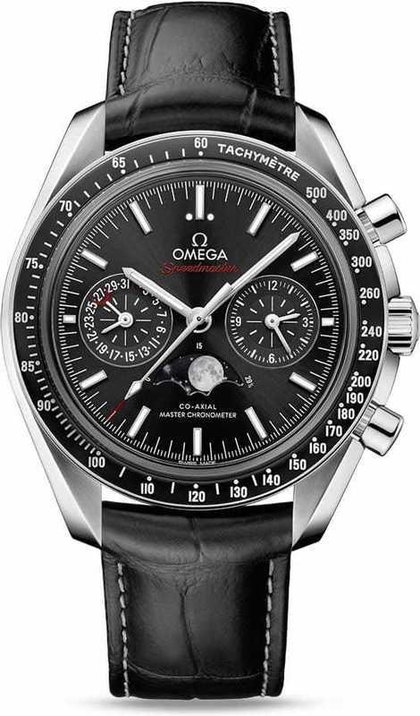 Omega Speedmaster Moonwatch Master Chronometer Moonphase Chronograph 44.25mm