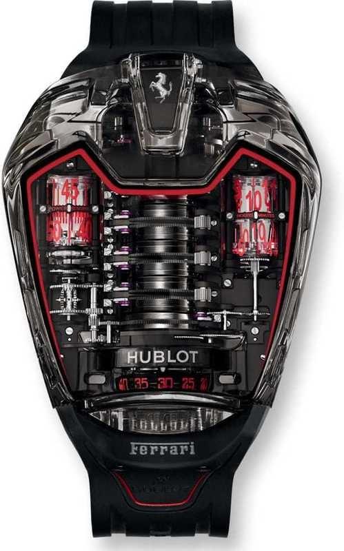 Hublot Mp 05 Laferrari Aperta Exquisite Timepieces