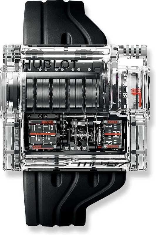 Hublot MP-07 Sapphire 40 Days Power Reserve