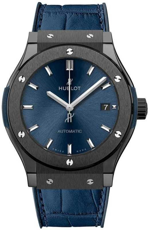 Hublot Classic Fusion Ceramic Blue 42mm 542.CM.7170.LR