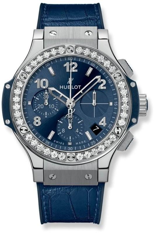 Hublot Big Bang Steel Blue Diamonds 341.SX.7170.LR.1204