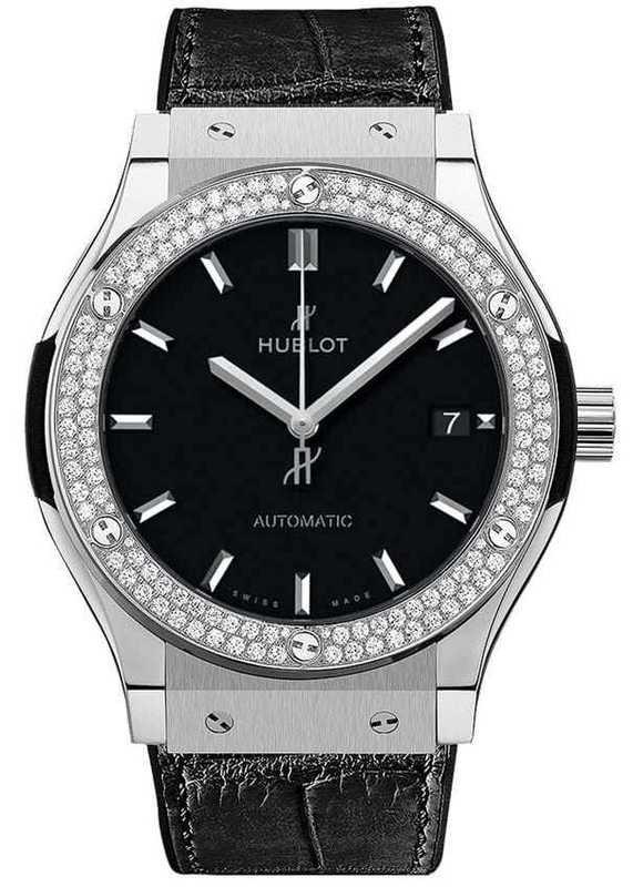 Hublot Classic Fusion Titanium Diamonds 38mm
