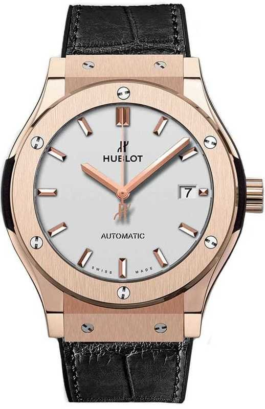 Hublot Classic Fusion King Gold Opalin 42mm on Bracelet