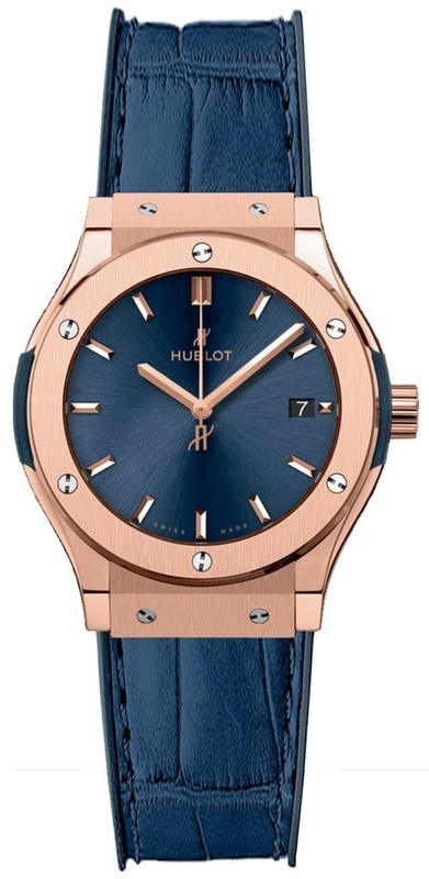 Hublot Classic Fusion Rose Gold Quartz 581.OX.7180.LR