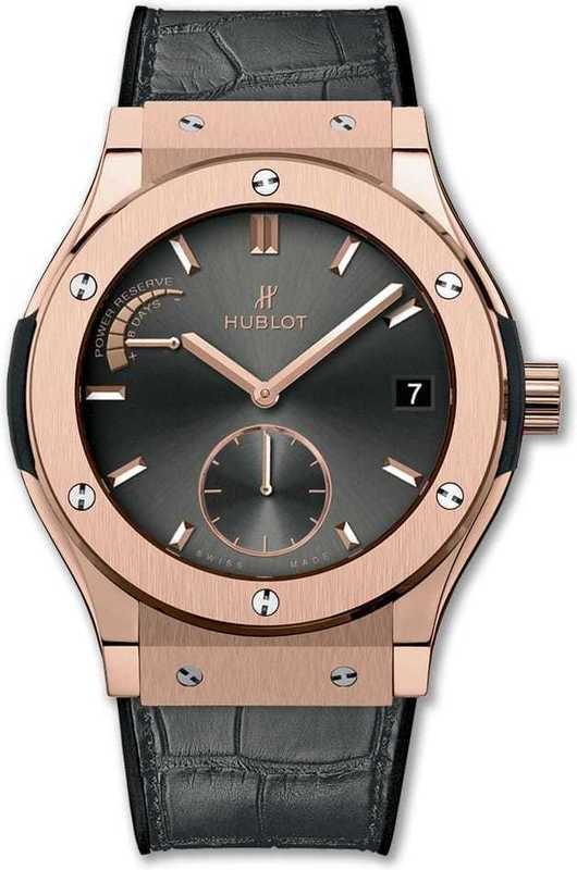 Hublot Classic Fusion Power Reserve King Gold Racing Grey