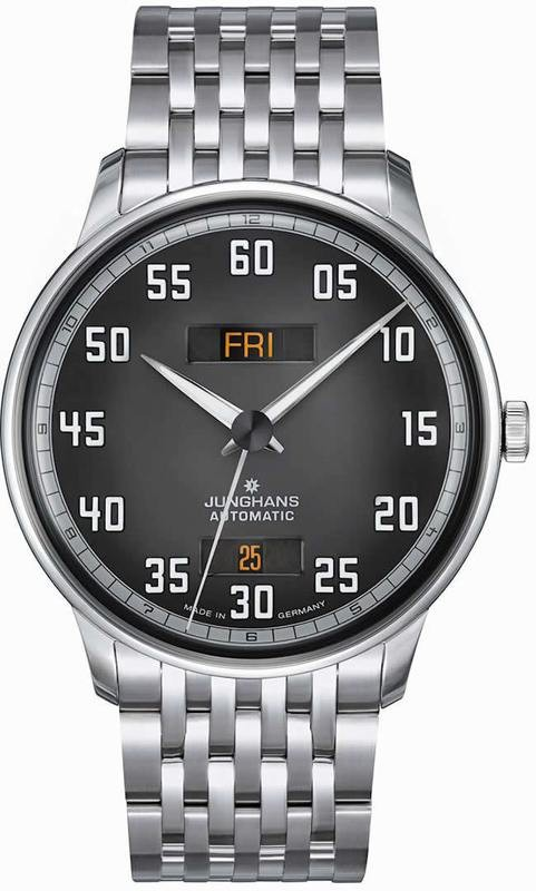 Junghans Meister Driver Day Date 027/4722.45