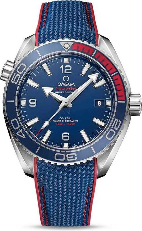 Omega Seamaster Pyeongchang Limited Edition Blue and Red