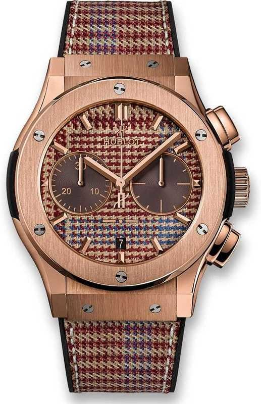 Hublot Classic Fusion Chronograph Italia Independent Prince-De-Galles King Gold