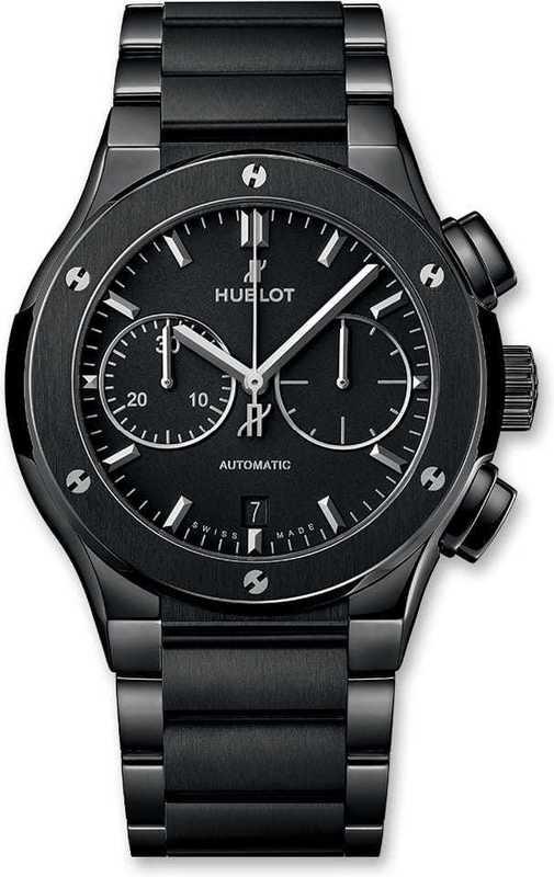 Hublot Classic Fusion Chronograph Black Magic Bracelet 45mm