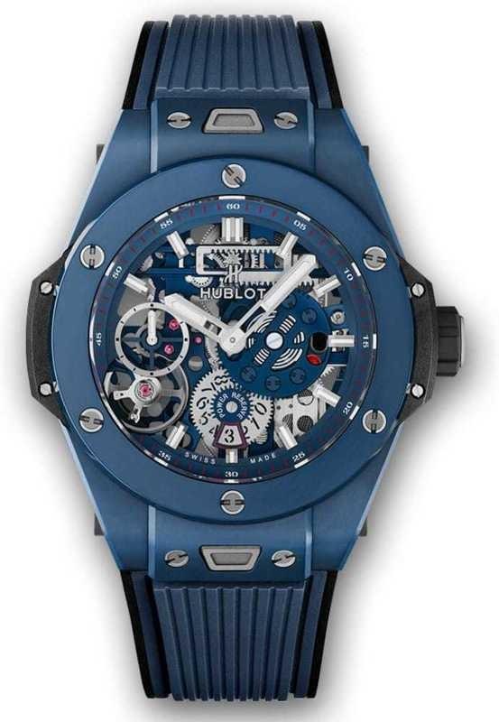 Hublot Big Bang Meca-10 Ceramic Blue 45mm