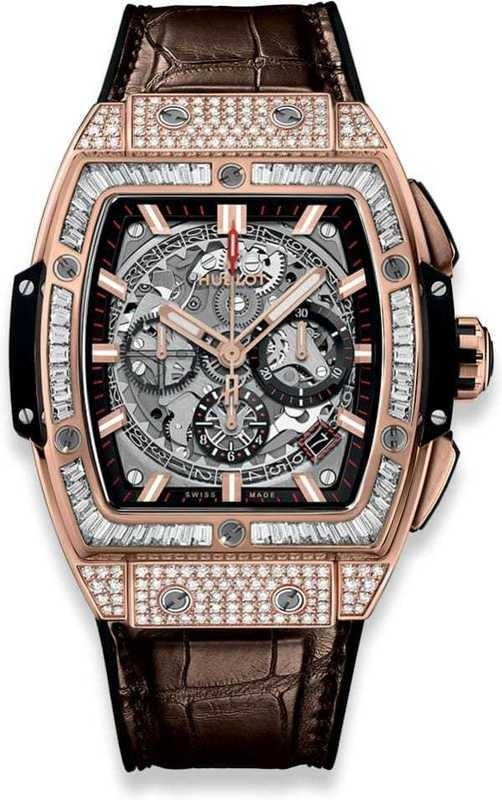 Hublot Spirit of Big Bang King Gold Jewellery 42mm 641.OX.0183.LR.0904