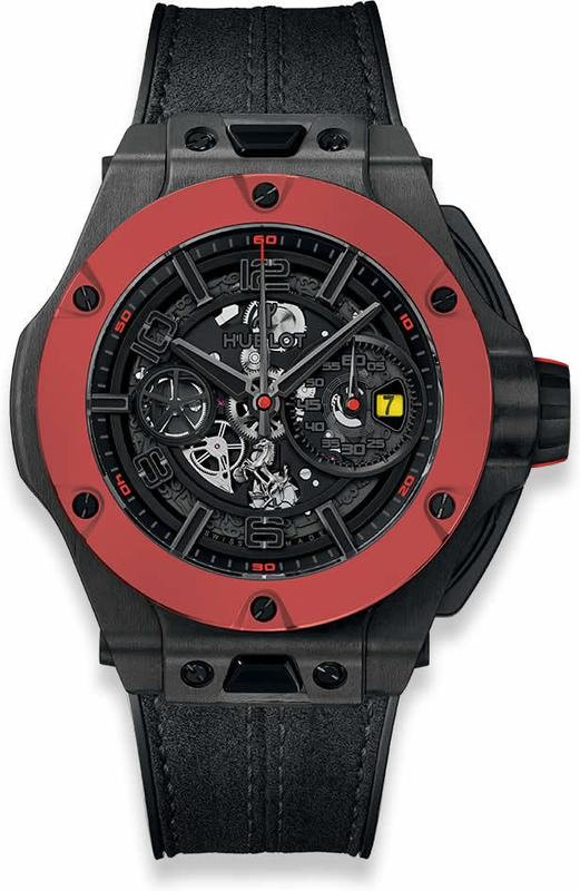 Hublot Big Bang Ferrari Unico Carbon Red Ceramic 45mm