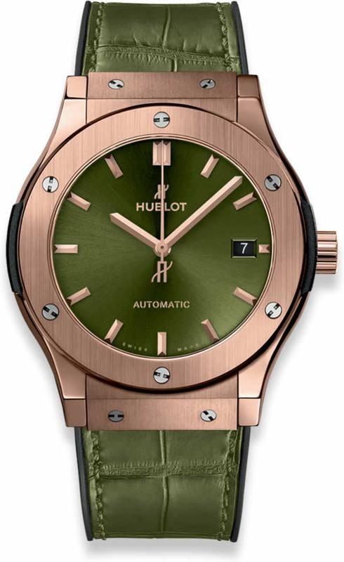 Hublot Classic Fusion King Gold Green 45mm
