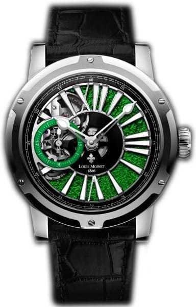 Louis Moinet Metropolis Magic Green Stainles Steel