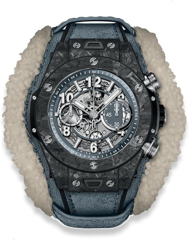 Hublot Big Bang Unico Frosted Carbon 45mm
