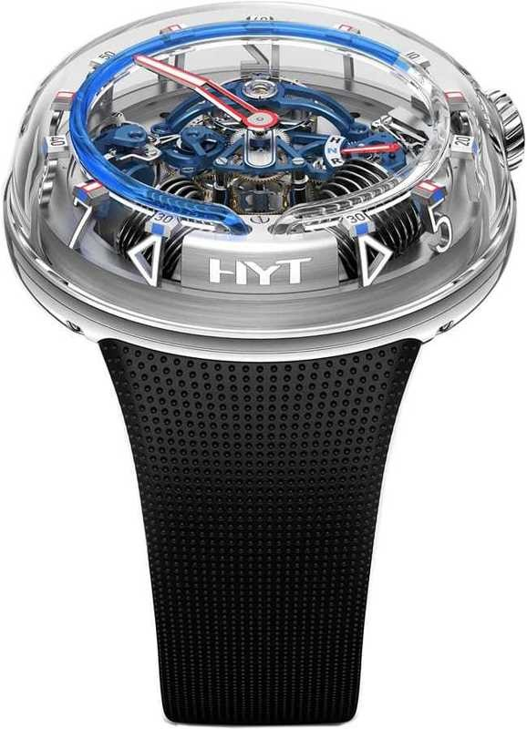 HYT H20 Silver Limited Edition