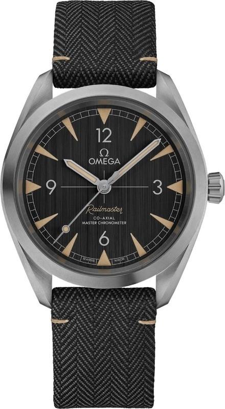 Omega Railmaster Co-Axial Master Chronometer 40mm on Strap