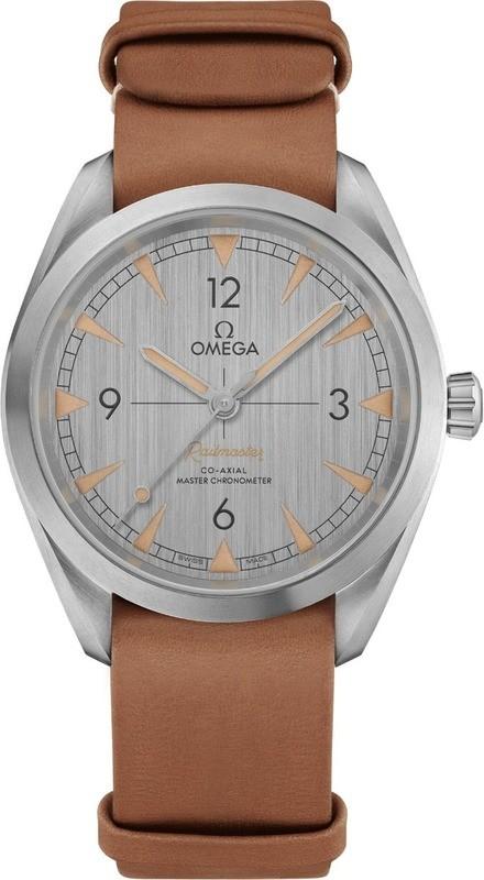 Omega Railmaster Co-Axial Master Chronometer 40mm on NATO Strap