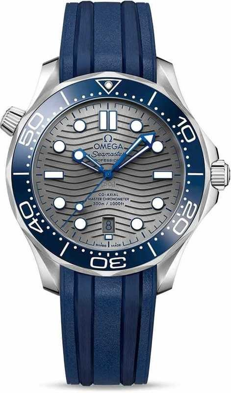 Omega Seamaster Diver 300M Co-Axial Master Chronometer on Strap