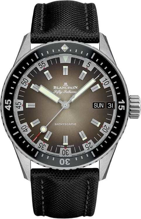 Blancpain Fifty Fathoms Bathyscaphe Day Date 70s 5052-1110-B52A