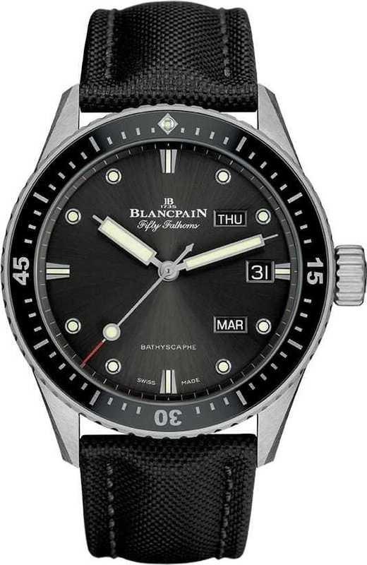 Blancpain Fifty Fathoms Bathyscaphe Quantieme Annuel 5071-1110-B52A