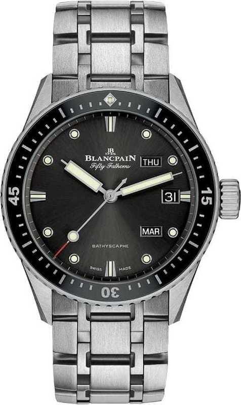 Blancpain Fifty Fathoms Bathyscaphe Quantieme Annuel  5071-1110-70B