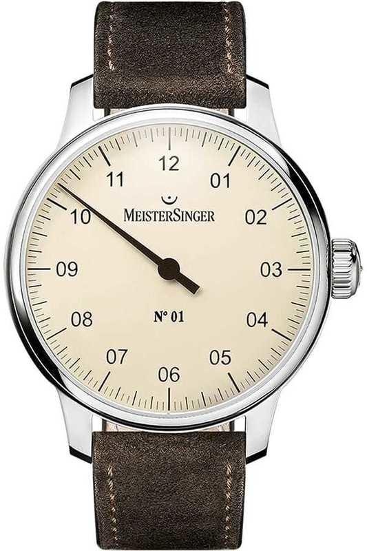 MeisterSinger No 01 40mm Ivory