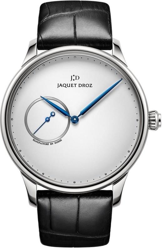 Jaquet Droz Grande Heure Minute Silver