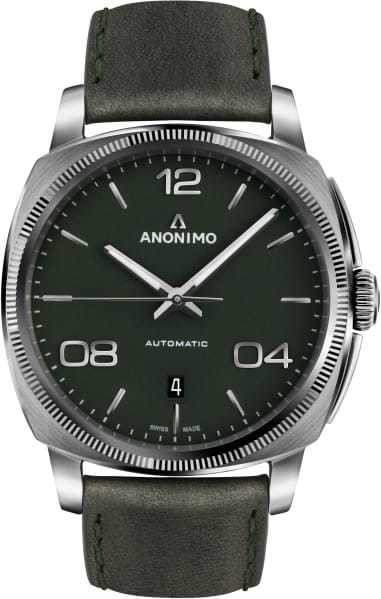 Anonimo Epurato Automatic Stainless Steel Case Mat Green Dial