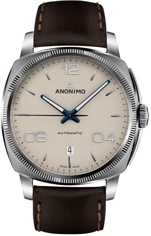 Anonimo Epurato Automatic Stainless Steel Case Galvanic Sunray Creme Dial
