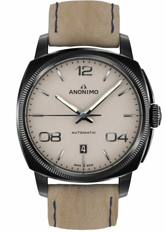 Anonimo Epurato Automatic Stainless Steel DLC Sand Dial