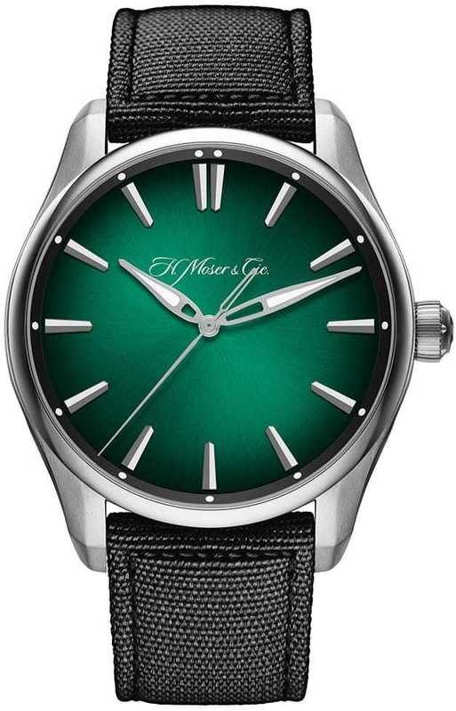 H. Moser & Cie Pioneer Centre Seconds Green