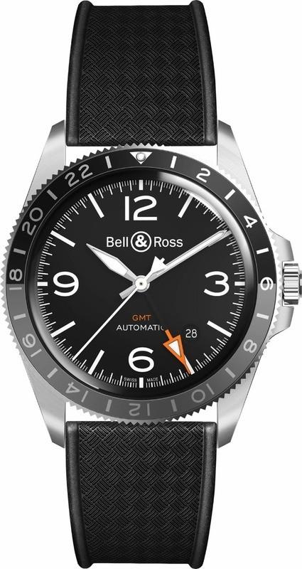 Bell & Ross V2-93 GMT 24H on Strap