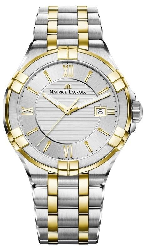Maurice Lacroix Aikon Gents Silver on Bracelet