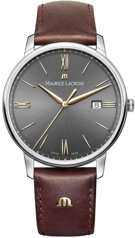 Maurice Lacroix Eliros Date Anthracite Dial EL1118-SS001-311-1