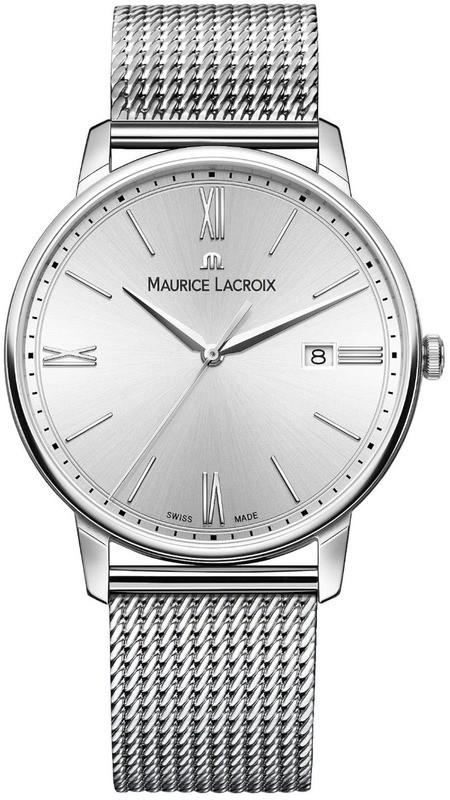 Maurice Lacroix Eliros Date Silver Dial on Bracelet EL1118-SS002-110-1